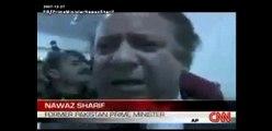 Nawaz Sharif Crying Over Sad Demise of Benazir Bhutto Shaheed