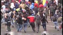 Protestas en Ecuador por aprobación de enmiendas que incluyen reelección indefinida