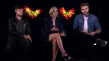The Hunger Games Mockingjay Part 2 Interview - Jennifer Lawrence, Josh Hutcherson & Liam H