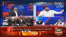 Naz Baloch Doing Chitrol Of Aamir Liaquat In Live Show