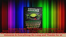 PDF Download  Douglas Adams The Ultimate Hitchhikers GuideComplete  UnabridgedHitchhikers Guide to Read Full Ebook