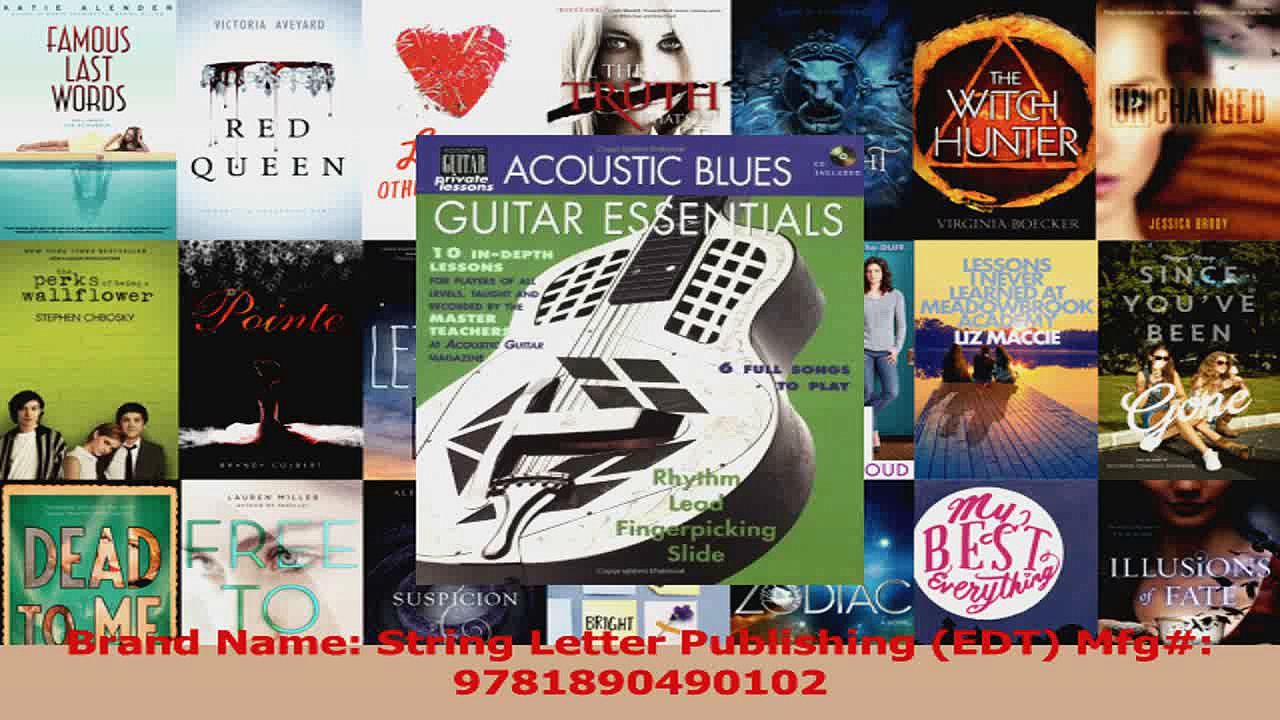 Read  Acoustic Blues Guitar Essentials BookCD String Letter Publishing Acoustic Guitar Ebook Free