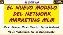 VIDEO 03 Linea Mundial LUM SNM-NG Nuevo Modelo Network Marketing Mlm, NO ES Binario Matriz Unilevel Uninivel
