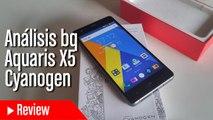 Análisis bq Aquaris X5 Cyanogen