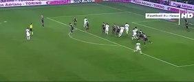 Torino vs Roma 1-1 Miralem Pjanić Fantastic Free-Kick Goal
