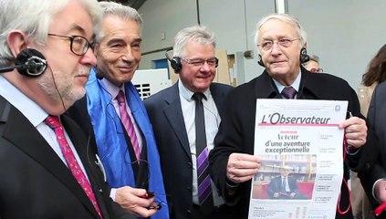 Avesnes : L'Observateur inaugure sa nouvelle rotative numérique