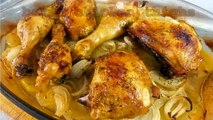 BAKED CHICKEN THIGHS -  Easy Food Recipes For Begginers To Make at home - Cooking for Dinner