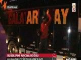 Galatasaray-Bursaspor maçı öncesi futbolcuların TT Arena'ya geliş görüntüleri. (4 Aralık 2015- GS TV)