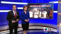 Médicos cubanos residentes en Miami regresan a Costa Rica donde atendieron a cubanos varados