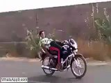 Desi Indian Boys Dangerous Stunt Fail - Bike Stunt Gone Wrong(whatsapp9.com) - Video Dailymotion