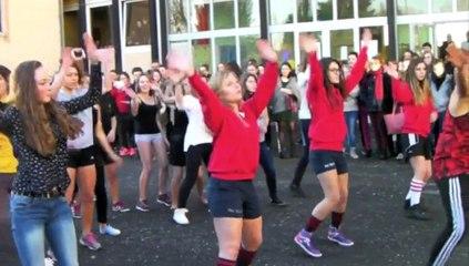 Téléthon et flash-mob au lycée d'Hirson