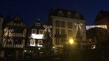 Illuminations de Noël à Morlaix