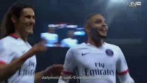 Edinson Cavani Fantastic GOAL OGC NICE 0-1 PSG Ligue 1 4.12.2015 HD