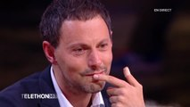 L'émotion de Marc-Olivier Fogiel - Téléthon 2015