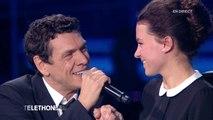 """Marc Lavoine chante """"Elle a les Yeux Revolver"""" pour Marie - Téléthon 2015"""