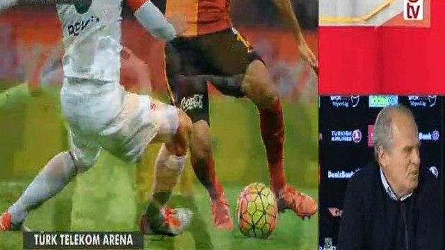 Galatasaray-Bursaspor 3-0 | Maç sonu Mustafa Denizlinin basın toplantısı (4 Aralık 2015)