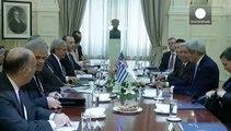 جان کری از نقش دولت یونان در پروژه های انرژی اروپا تشکر کرد