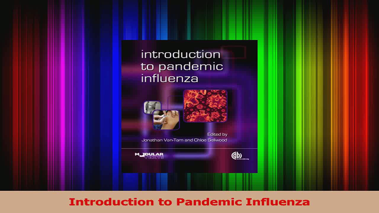 Introduction to Pandemic Influenza Read Online