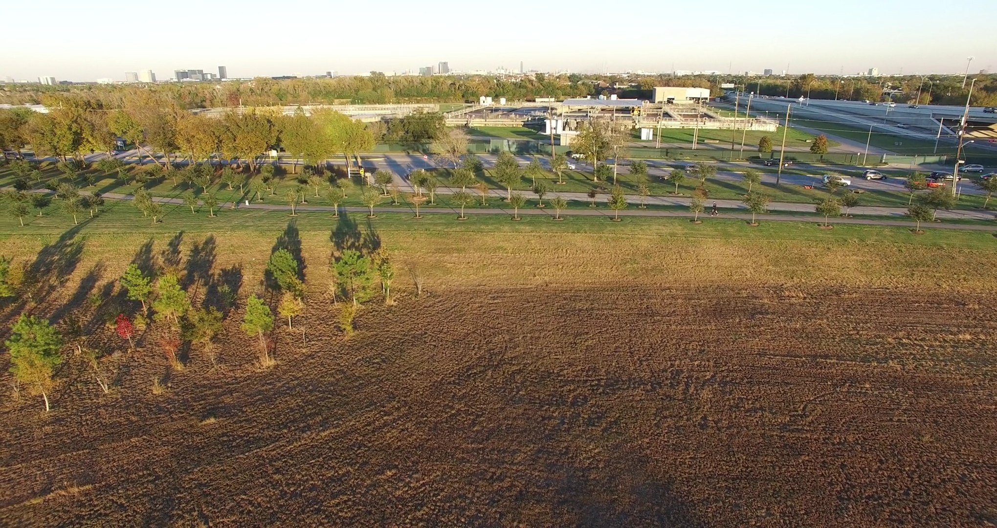 Testing Drone Phantom 3 Pro at Mike Driscoll Park in H-Town