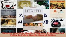 PDF Download  Maternal And Child Health Programs Problems And Policy In Public Health Second Edition PDF Full Ebook