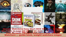 Download  Weight Watchers Easy Start BOX SET 2 In 1 Simple Diet Plan to Lose 15 Lbs In 15 days  30 Ebook Free