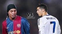 Ronaldinho & Cristiano Ronaldo ● Crazy Skills II C.Ronaldo Vs Ronaldinho ◄ Top 15 Skills Moves Ever ►