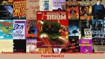 Read  Fantastic Four Books of Doom Fantastic Four Marvel Paperback PDF Online