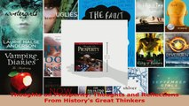Read  Thoughts on Prosperity Thoughts and Reflections From Historys Great Thinkers Ebook Free