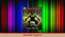 Read  Wolverine Wolverine Goes to Hell Wolverine Marvel Quality Paper Ebook Free
