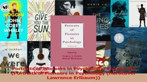 PDF Download  Portraits of Pioneers in Psychology Volume III Portraits of Pioneers in Psychology Download Online