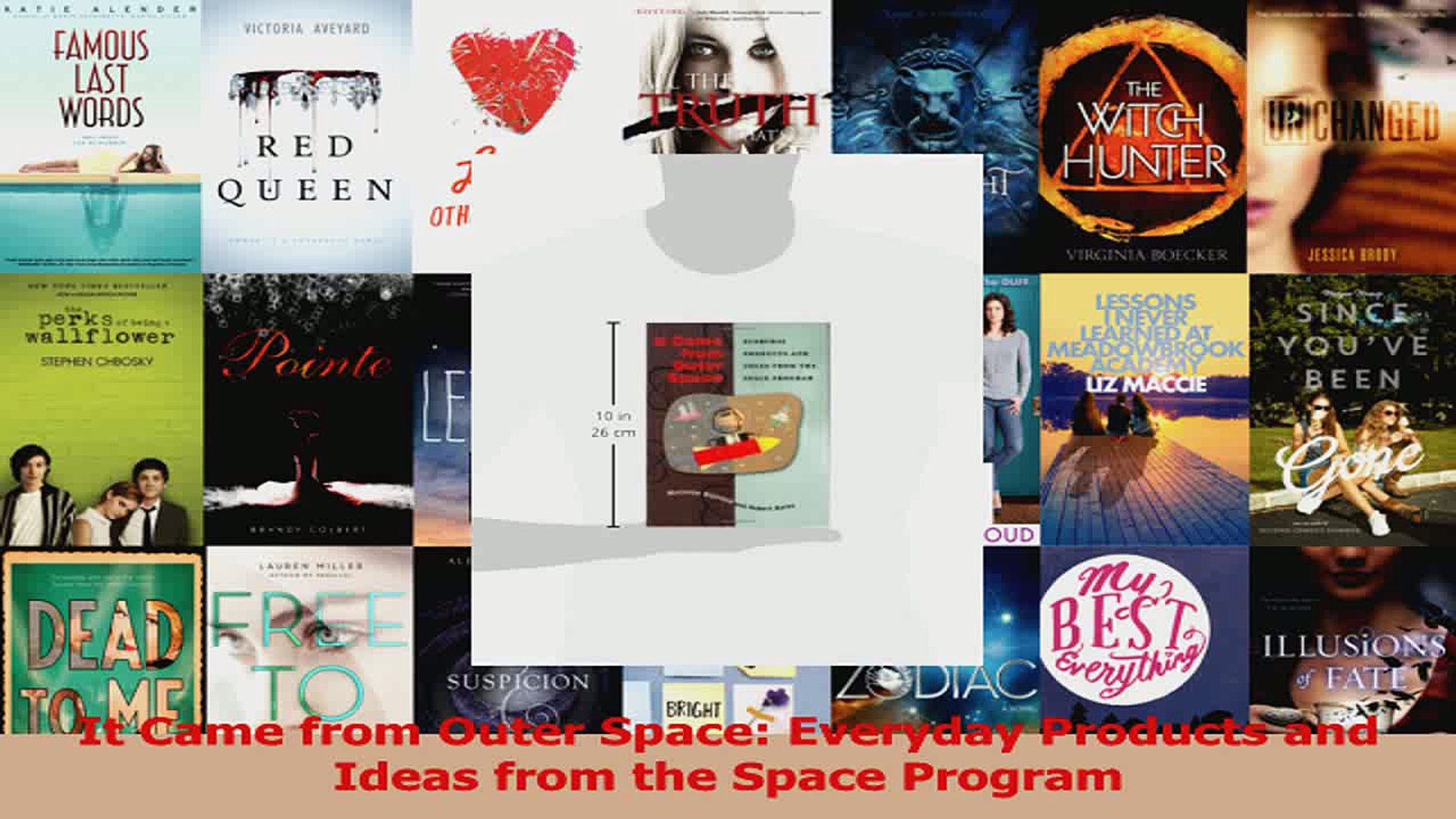 PDF Download  It Came from Outer Space Everyday Products and Ideas from the Space Program Read Onlin
