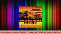 Read  MechCommander Gold Primas Official Strategy Guide Ebook Online