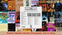 Download  Belwin Master Duets Trumpet Vol 1 Easy Ebook Free