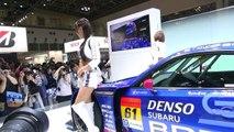 東京モーターショー2015コンパニオン スバル