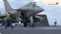 Frappes sur Daech du porte-avions «Charles-de-Gaulle»