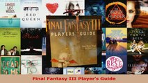 Download  Final Fantasy III Players Guide PDF Online