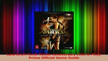 Download  Lara Croft Tomb Raider Anniversary 360  PS2 Prima Official Game Guide Ebook Free