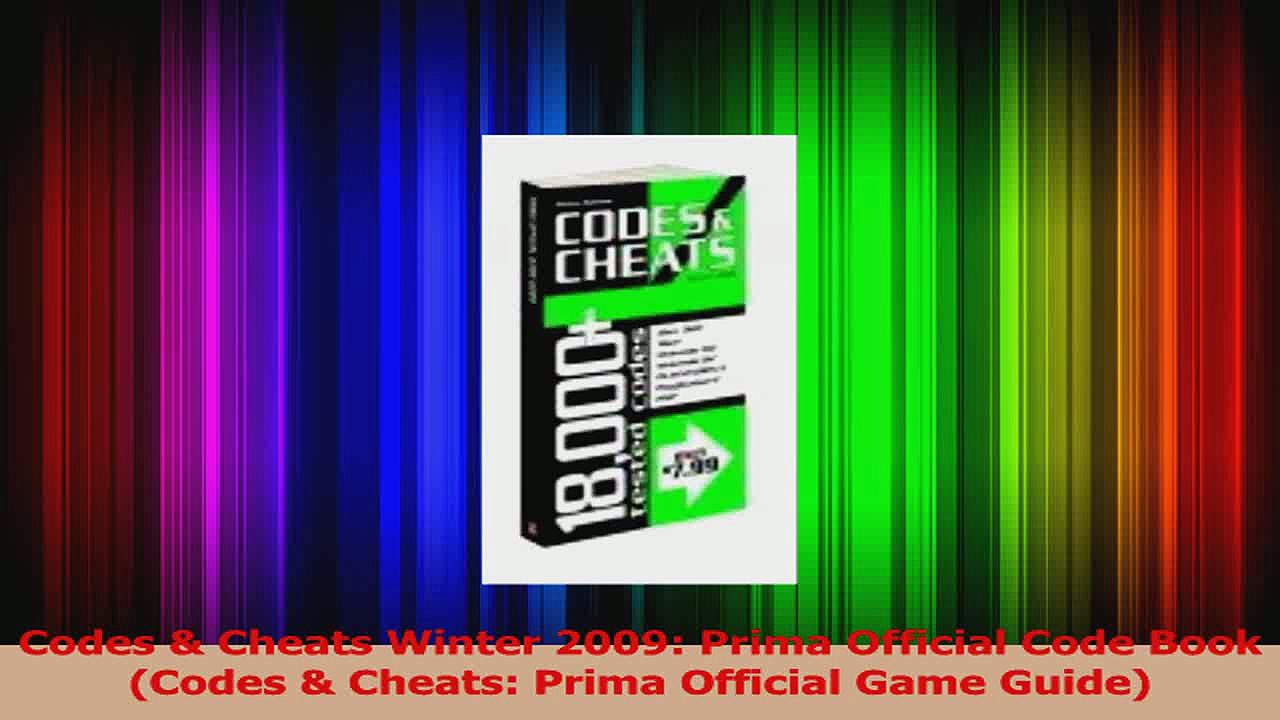 Download  Codes  Cheats Winter 2009 Prima Official Code Book Codes  Cheats Prima Official Game PDF Online