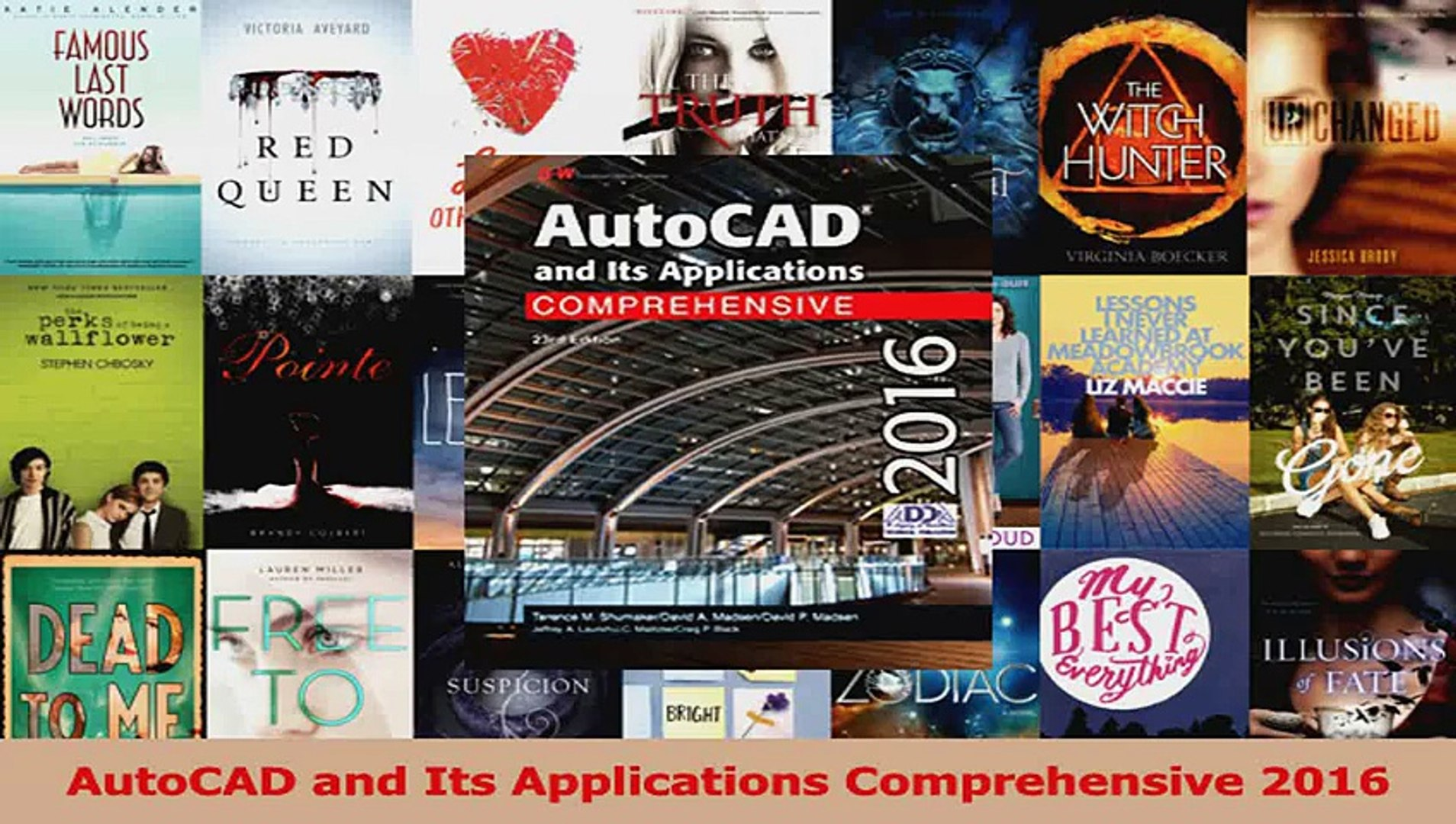 autocad and its applications comprehensive 2016 pdf free