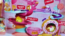 Num Noms Go-Go Cafe NEW Special Edition Nilla Go-Go Spinning Donut Wheel Toy Unboxing DCTC
