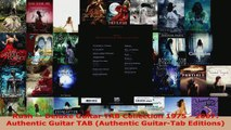 Read  Rush  Deluxe Guitar TAB Collection 1975  2007 Authentic Guitar TAB Authentic EBooks Online