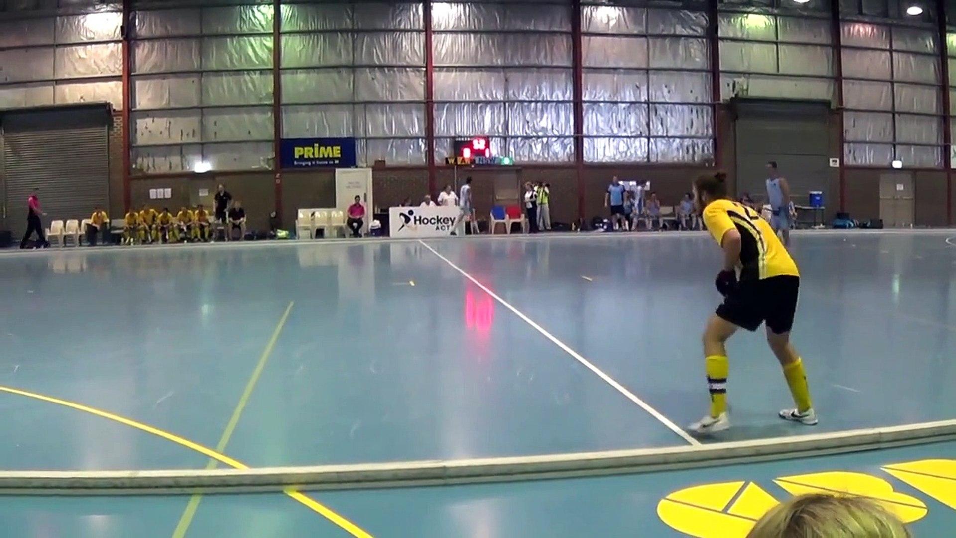 2014 National Indoor Hockey Mens Under 21 Final NSW vs WA.