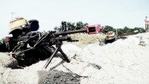Invasion des Marines de l'US army sur une plage. Demo impressionnante