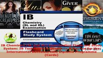 Read  IB Chemistry SL and HL Examination Flashcard Study System IB Test Practice Questions  EBooks Online