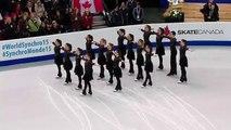 Canada: elles patinent au centre de la glace, lorsque la musique commence, personne ne s'attend à ça!