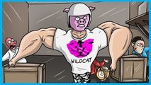 Garrys Mod Buff Character Mod! - Hide and Seek Funny Moments - Arnolds Workout Class and