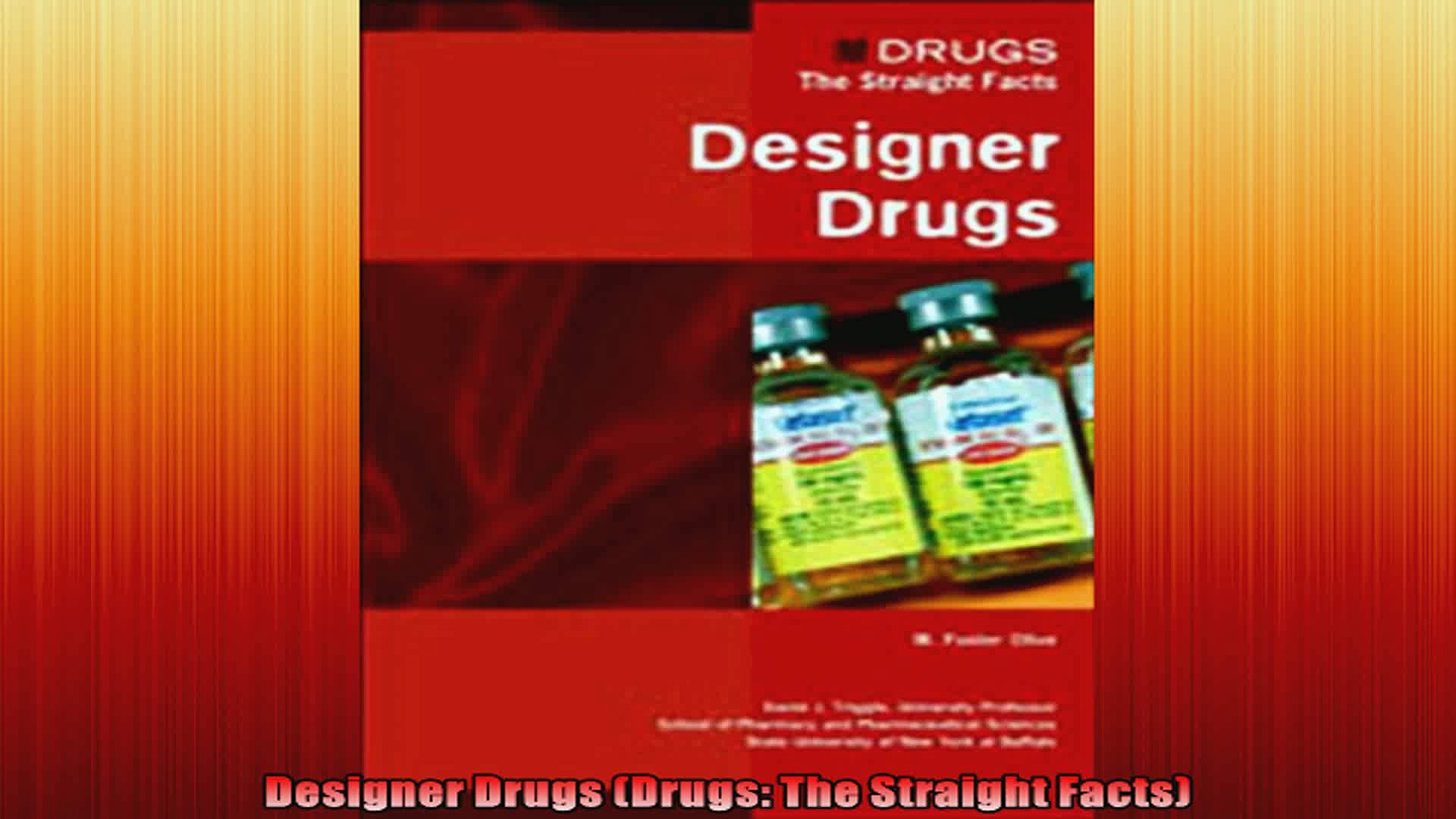 Designer Drugs Drugs The Straight Facts