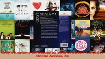 Read  Grays Anatomy for Students With STUDENT CONSULT Online Access 3e Ebook Free