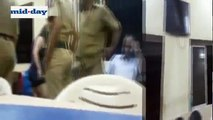 Crazy Video  Mumbai Woman Drinks Beer Inside Police Station, Abuses, Threatens Cops