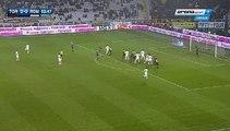 Miralem Pjanić Goal - Torino 0 - 1  AS Roma - 05/12/2015